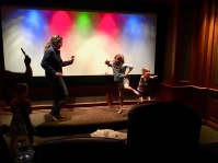 "Even got a ""dance show"" complete with audience participation in their private theater"