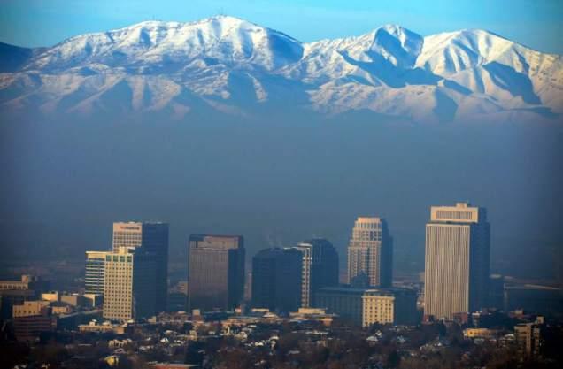 Smog over SLC
