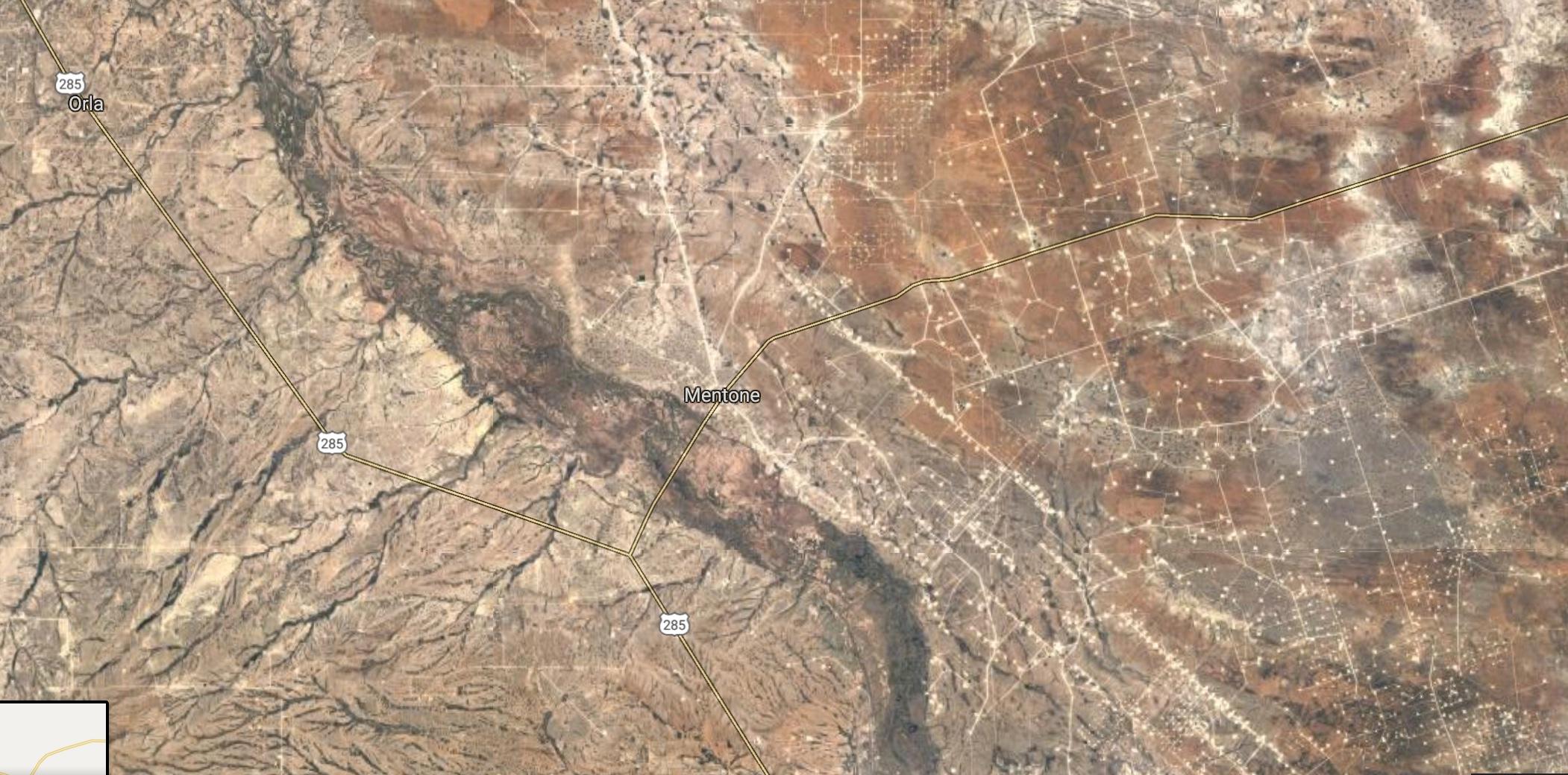 Oil aerial